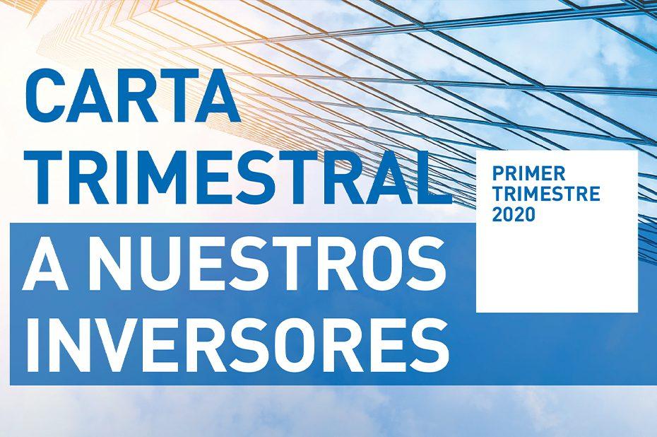 carta trimestral inversores 1T 2020