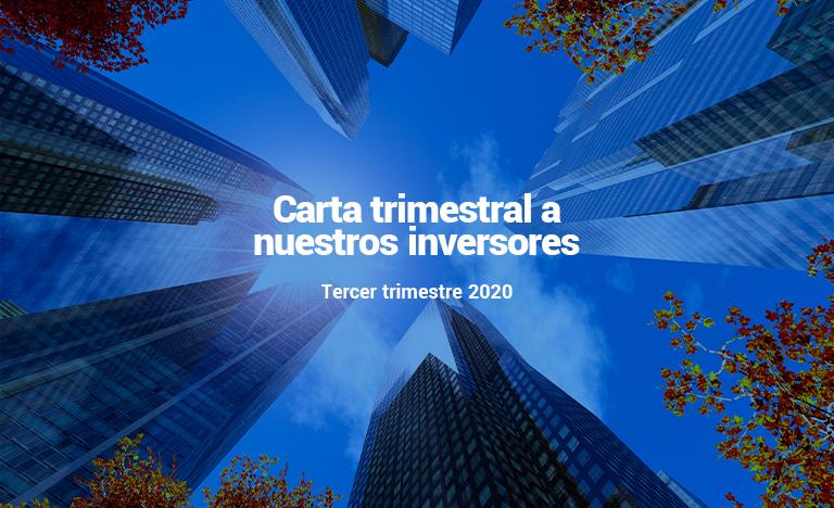 Carta trimestral a inversores 3T2020: Santalucía Asset Management